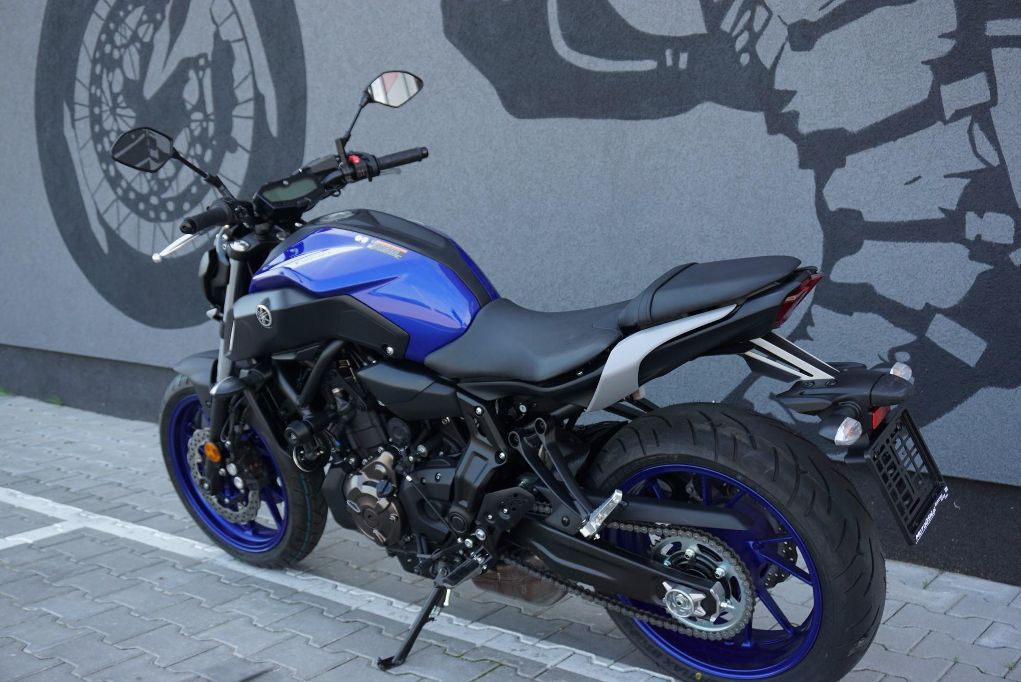 Yamaha MT 07 55 kW