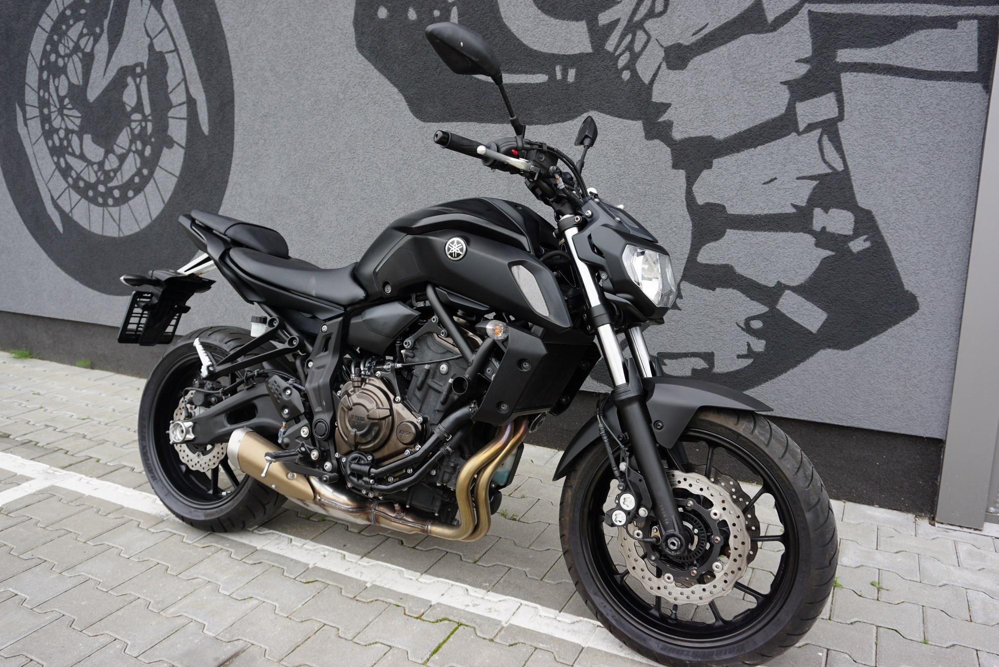 Yamaha MT 07 Tech Black