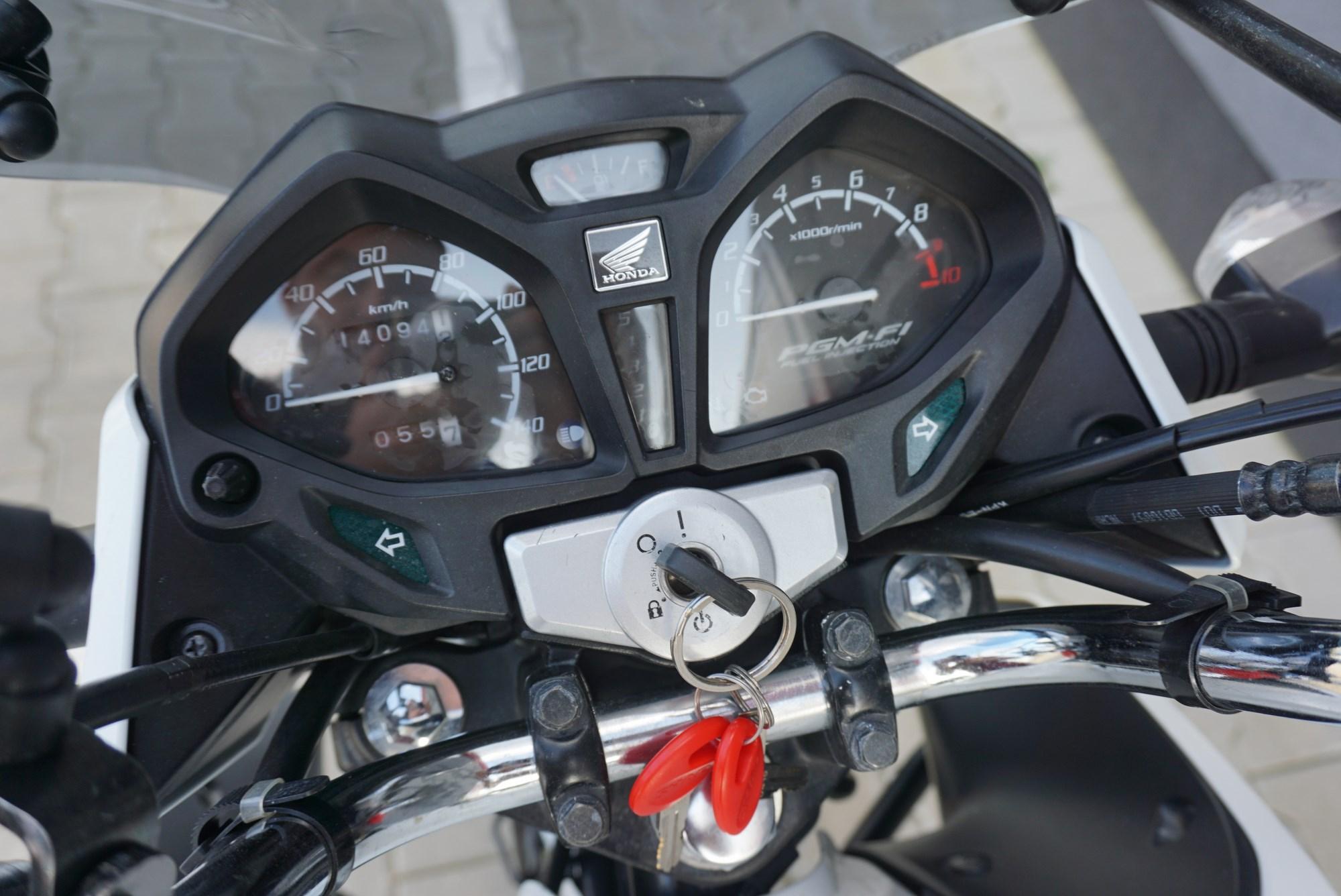 Honda CB 125 F TRAVEL